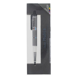 Pentel Super Multi-8 Automatic Mechanical Pencil Set, 2 Barrel Colors
