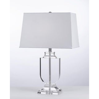 Crystal Urn Table Lamp with Shade