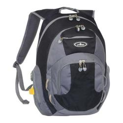 Everest Deluxe Traveler's Laptop Backpack Black/Grey
