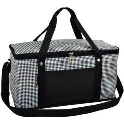 Picnic at Ascot Folding 72-Can Cooler Houndstooth