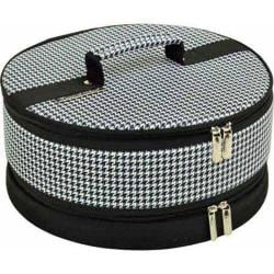 Picnic at Ascot Pie/Cake Carrier Houndstooth