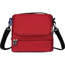 Children's Wildkin Double Decker Lunch Bag Cardinal Red