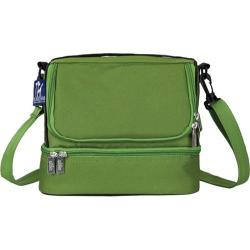 Wildkin Parrot Green Double Decker Lunch Bag