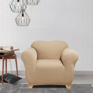 Sure Fit Stretch Honeycomb Chair Slipcover