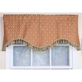 Rocco Gold Cornice Window Valance