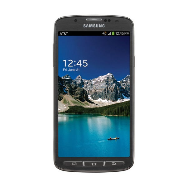 Samsung Galaxy S4 Active Android Jellybean Urban Grey 4G LTE 5-inch Unlocked AT&T Phone
