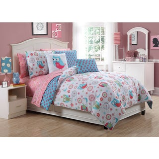 Emily 9-piece Bed in a Bag with Sheet Set