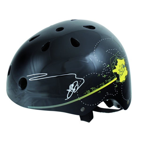 Black Tour Freestyle Helmet