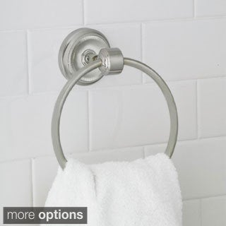 Elizabeth Solid Brass Towel Ring