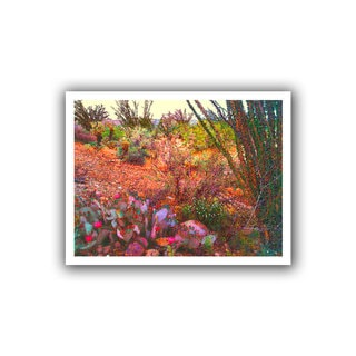 Dean Uhlinger 'Sonoran Spring' Unwrapped Canvas