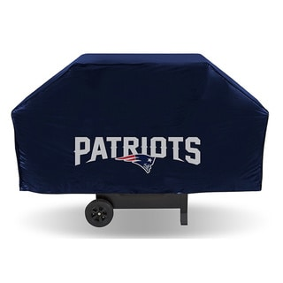 New England Patriots 68-inch Economy Grill Cover