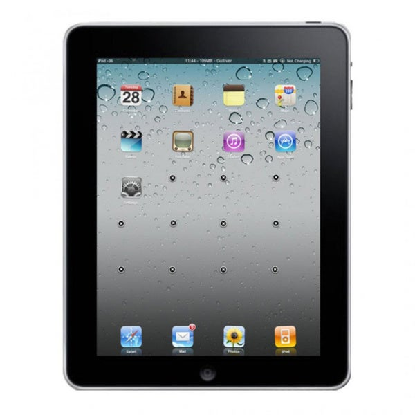 Apple iPad 1st Generation16GB WIFI Black- Refurbished 13248775