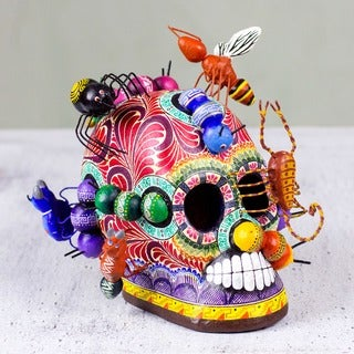 Handcrafted Ceramic 'New Life' Sculpture (Mexico)