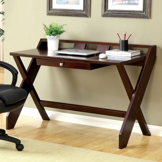 Furniture of America Xinea Modern Dark Cherry Desk
