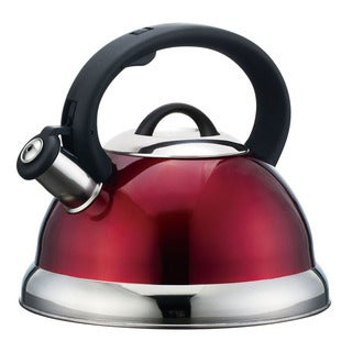 Alpine Cuisine Whistling Red Tea Kettle