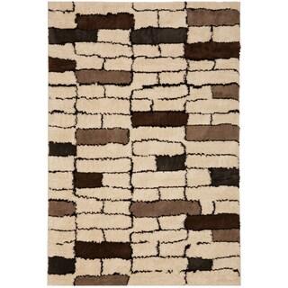 American Rug Craftsmen Cascade Howell Ivory (5'3 x 7'10)
