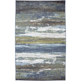 American Rug Craftsmen Concord Abstract Shore Rug (3'4 x 5')