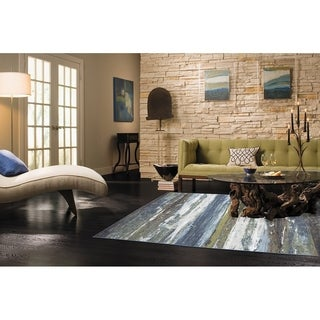 American Rug Craftsmen Concord Abstract Shore Rug (5' x 8')