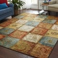 Artifact Panel Multi Nylon Rug (8' x 10')