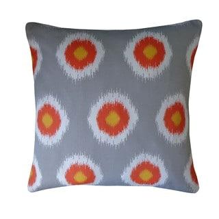 Sun Orange Polka Dot 20x20-inch Pillow