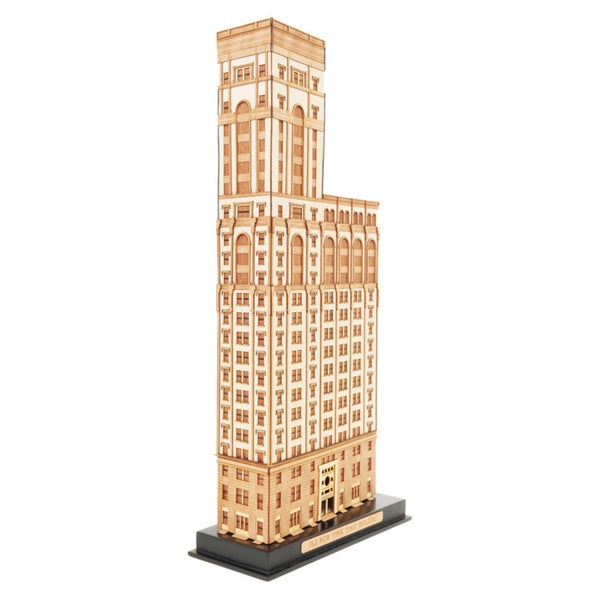 Old New York Time Building 3D Collectible Model