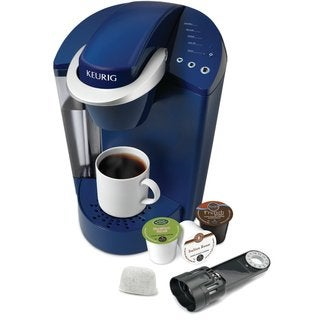 Keurig K45 Blue Elite Brewing System with Bonus 12 K-cups and Water Filter Kit