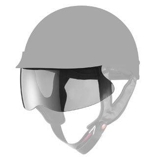 GLX Screw on Half Helmet Shield