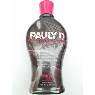 Pauly D Single Ready to Tingle Tanning Lotion 12.25-ounce Bronzer