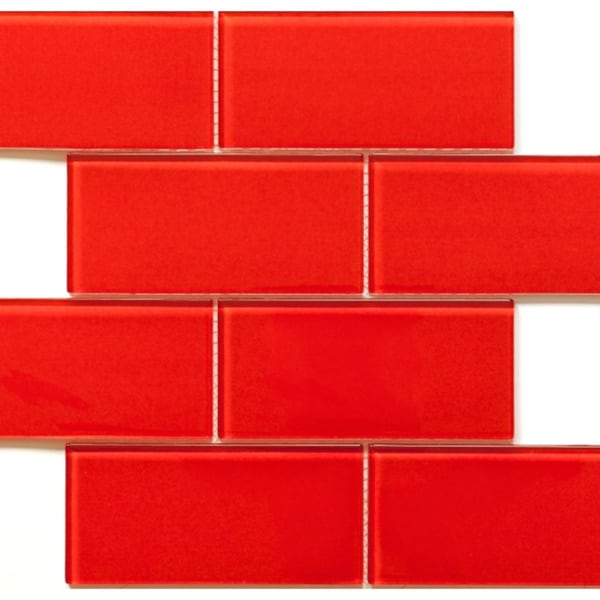 Martini Mosaic Blocco FireBerry 14.75x11.75 Tiles (Case of 10)