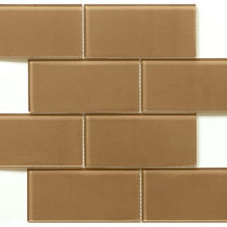Martini Mosaic Blocco Coffee Bean Tiles (Case of 10)