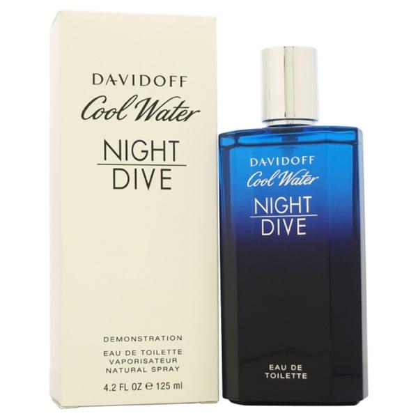 Zino Davidoff Cool Water Night Dive Men's 4.2-ounce Eau de Toilette Spray (Tester)