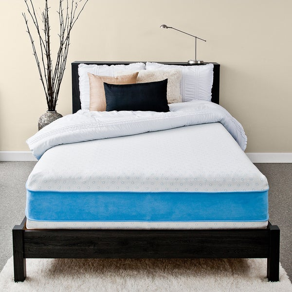 Priage 13-inch King-size Gel Memory Foam Mattress
