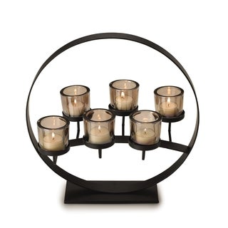 Mikasa 6-light 14-inch Floating Rings Centerpiece