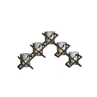 Mikasa 5-light Criss Cross Candle Holder