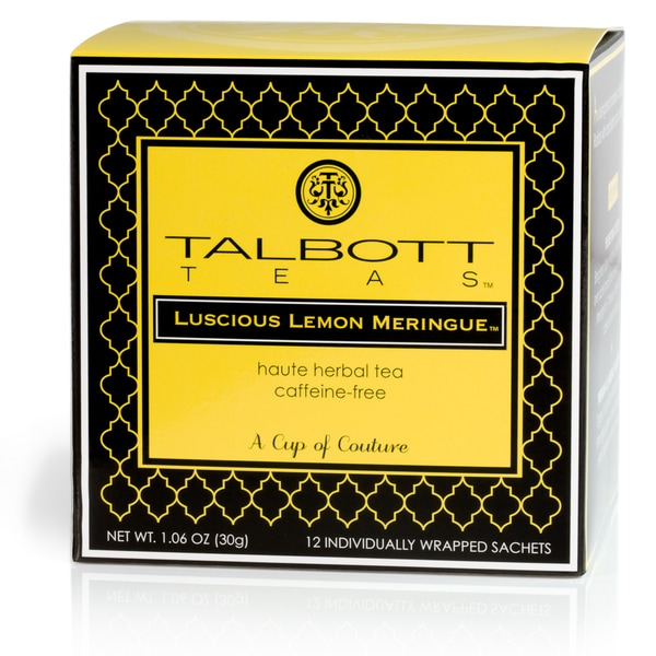 Luscious Lemon Meringue Rooibos Tea Sachets (Case of 6)