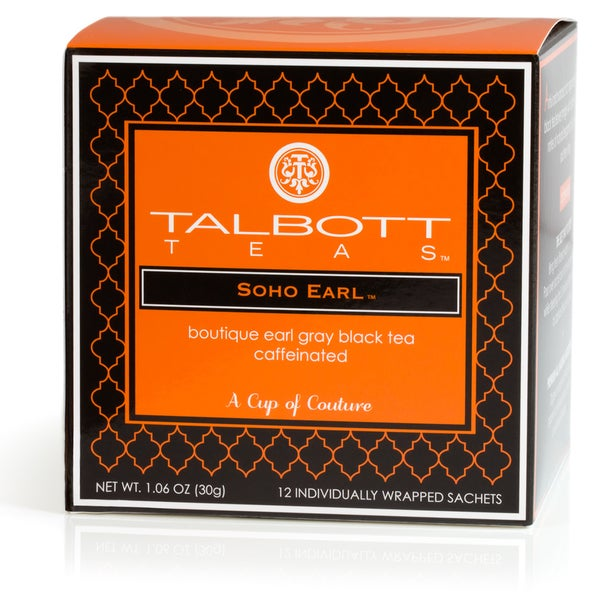 Soho Earl Tea Sachets (Case of 6)