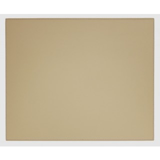 Sandy Tan Faux Leather Table Mat