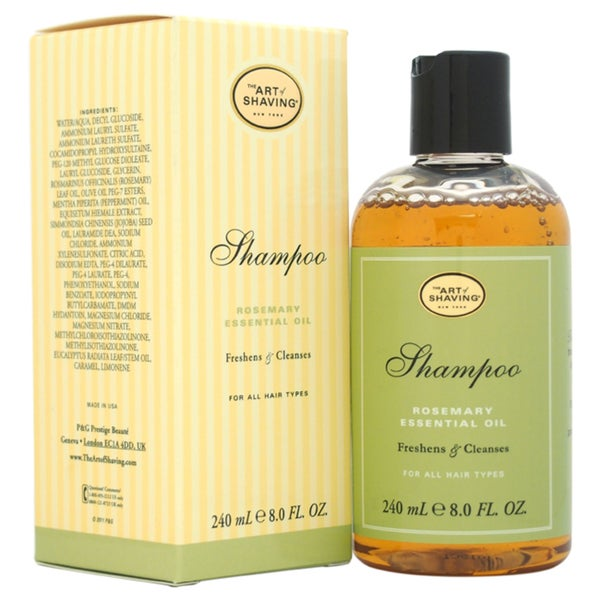 The Art of Shaving Rosemary Essential Oil 8-ounce Shampoo