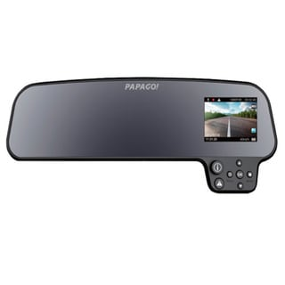 Papago GoSafe 260 Full HD Dash Cam Car DVR Dashboard Camera Video Recorder with Full Mirror Mount, Night Vision, Parking Monitor