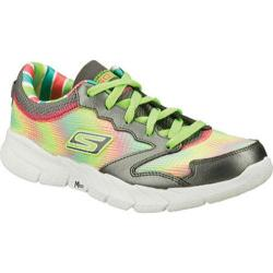 Women's Skechers GOfit Tempo Charcoal/Green