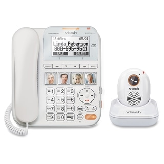 VTech CareLine SN1197 DECT 6.0 Expandable Corded Phone with Answering