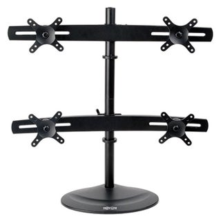 Tripp Lite Quad Display TV LCD Desk Mount Swivel Tilt