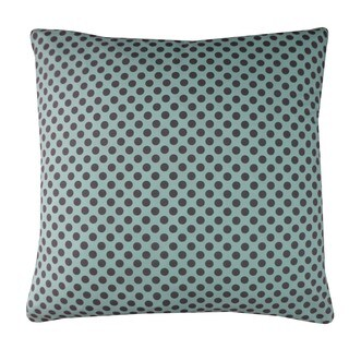 Pin Blue Kids Polka Dot 20x20-inch Pillow