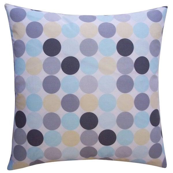 Disco Multi Kids Polka Dot 20x20-inch Pillow