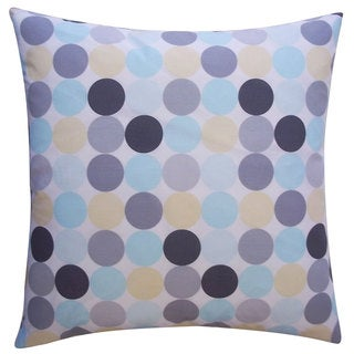Disco Multi Kids Polka Dot 20x20-inch Pillow