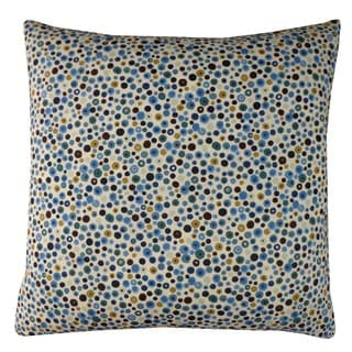 Splash Blue Kids Polka Dot 20x20-inch Pillow