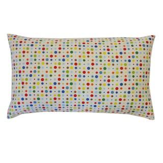 Circle Dot Kids Polka Dot 12x20-inch Pillow