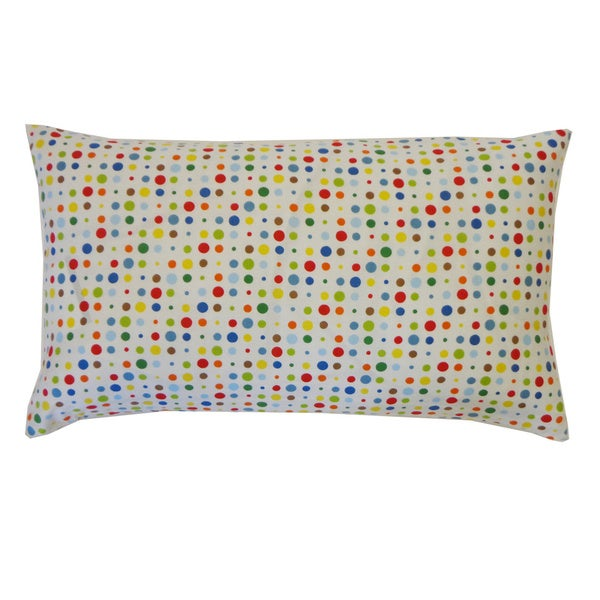 Circle Dot Kids Polka Dot 12x20-inch Pillow