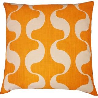 Ondo Yellow Geometric 20x20-inch Pillow