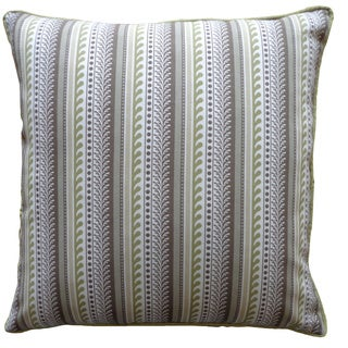 Pre Brown Striped 20x20-inch Pillow